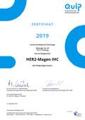 03 2019 Zertifikat HER2 Magen Immuno-1