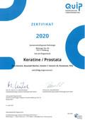 2020 Zertifikat&Auswertung Keratine Prostata s-1